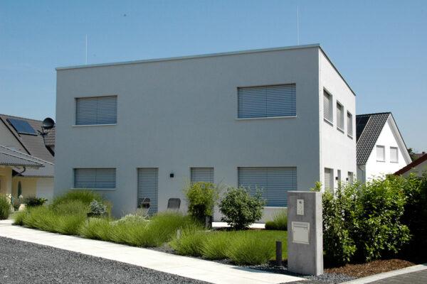 Neubau Modernes Einfamilienhaus in Bürstadt (Hessen)