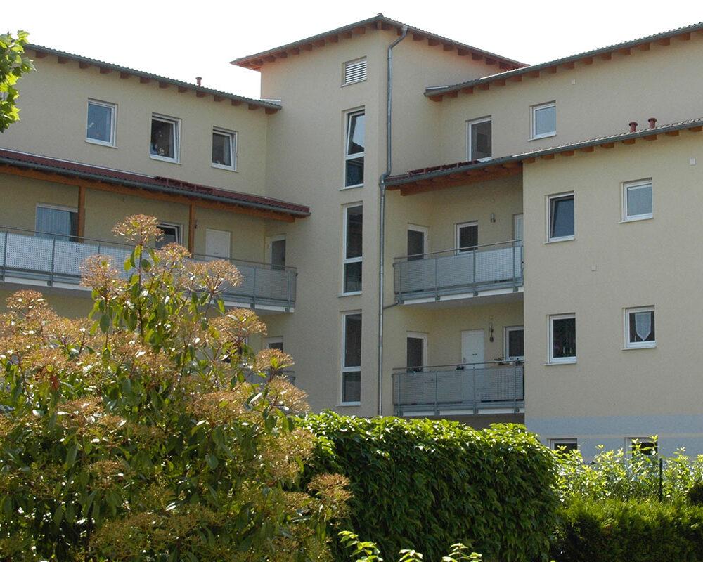Neubau Mehrfamilienhaus mit mehreren Wohneinheiten in Zwingenberg (Bergstraße)