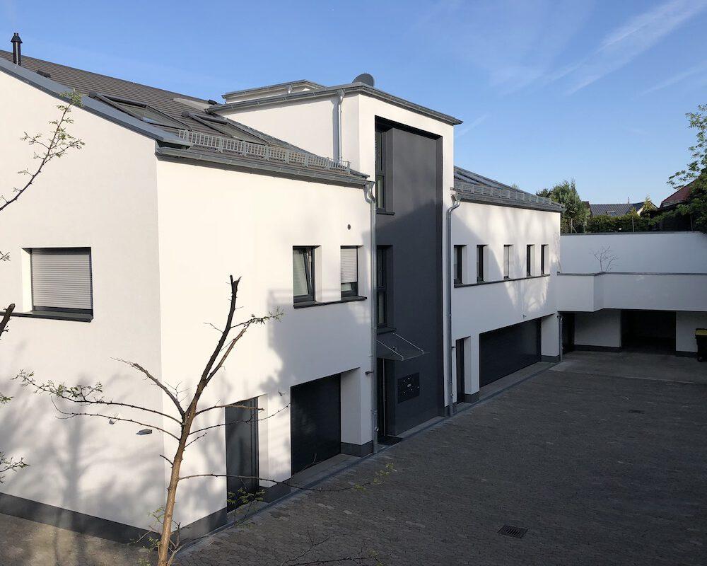Neubau Mehrfamilienhaus in Bensheim